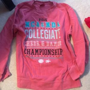Super warm and fall-ish NCA Nationals crew neck